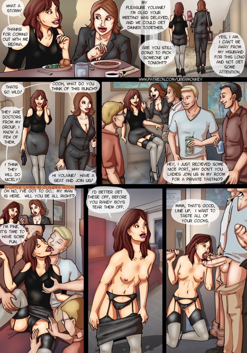 Porn Comics - Yolaine Gangbang – UberMonkey porn comics 8 muses