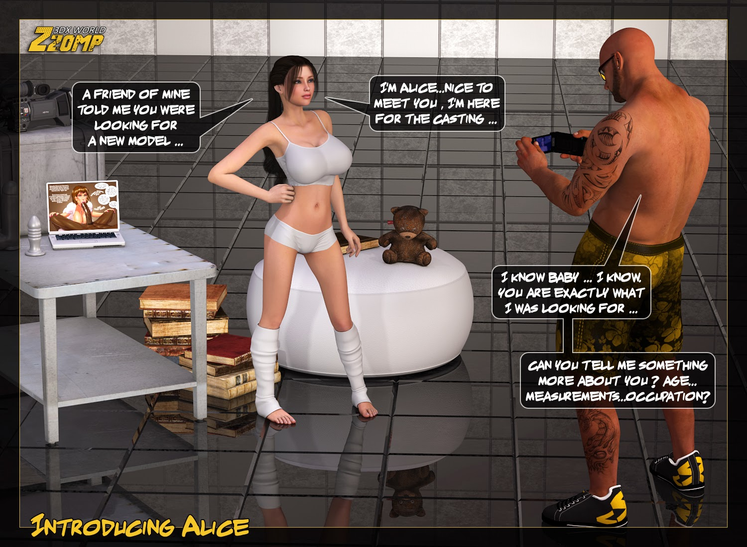 Porn Comics - Zzomp – Introducing Alice porn comics 8 muses