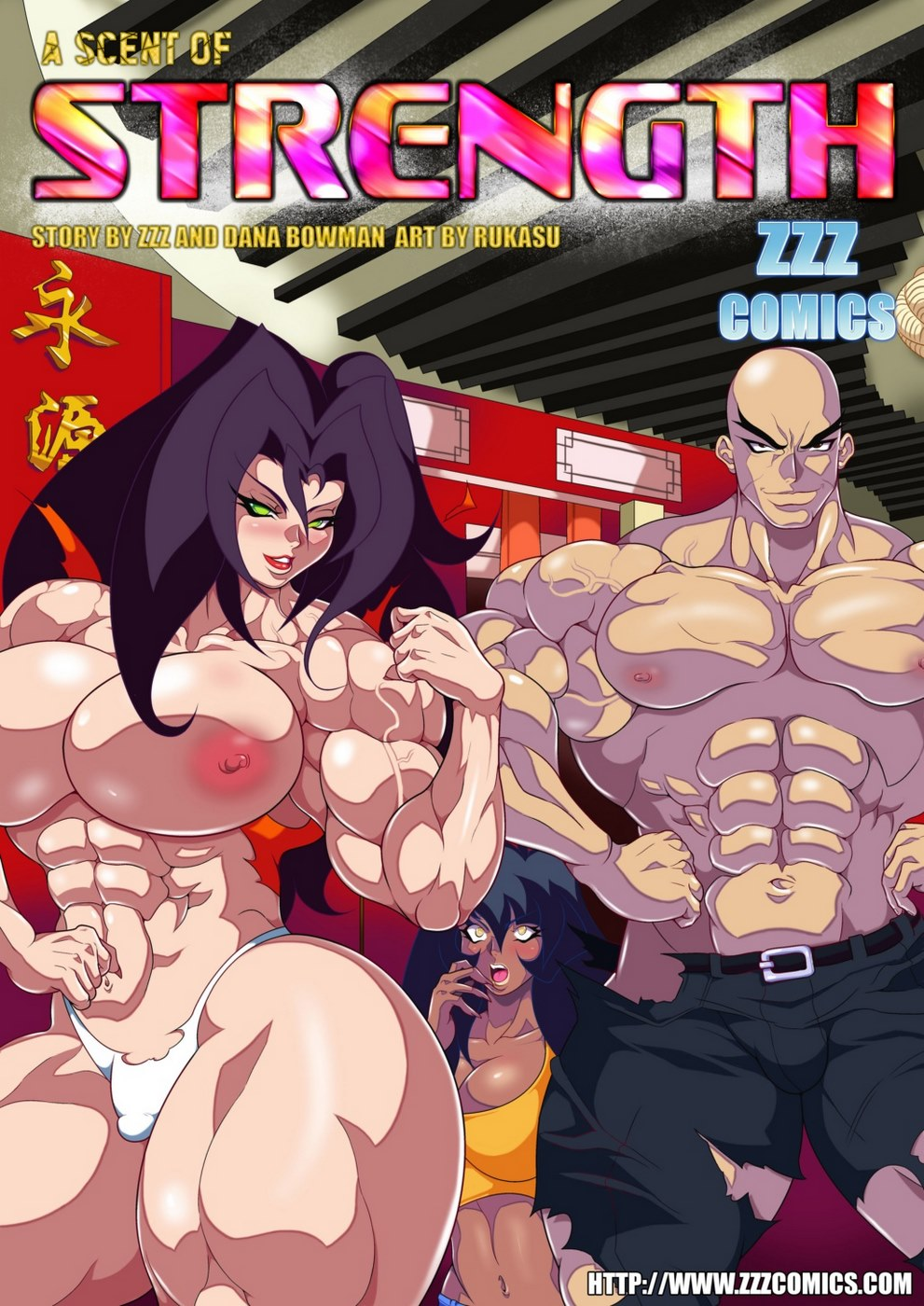 Porn Comics - ZZZ -A Scent of Strength porn comics 8 muses