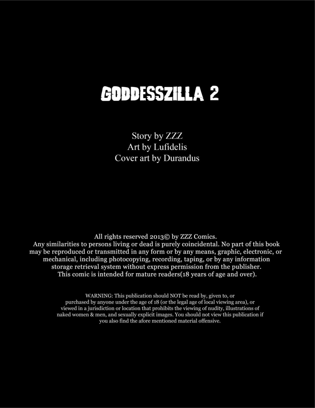 Porn Comics - ZZZ- Goddesszilla 2 porn comics 8 muses