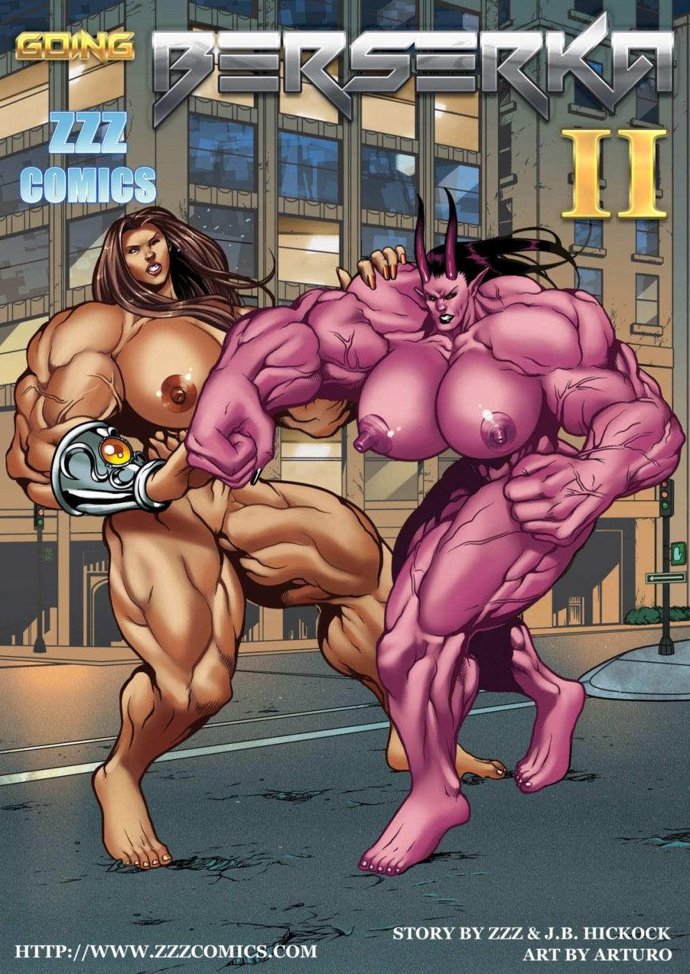 Porn Comics - ZZZ- Going Berserka Part 2 porn comics 8 muses