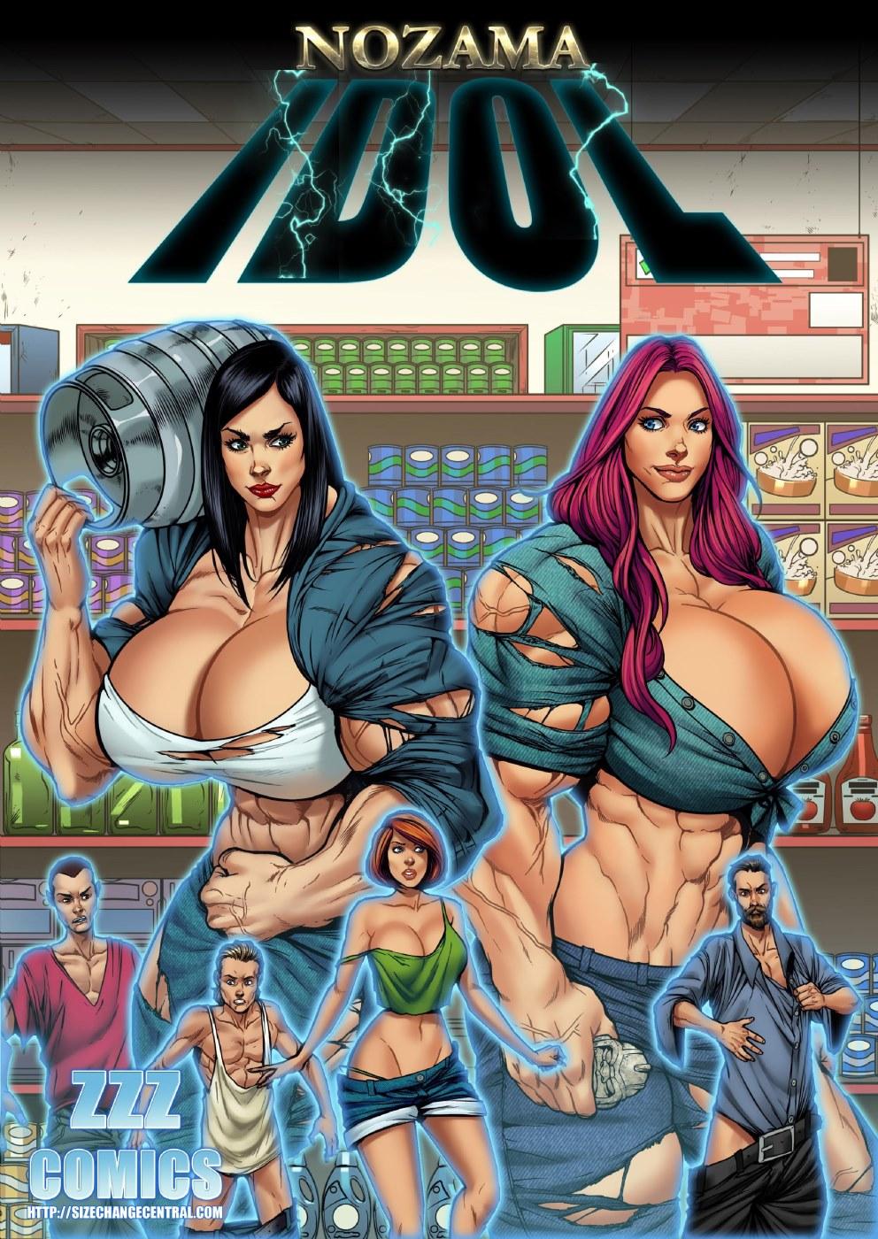 Porn Comics - ZZZ- Nozama Idol porn comics 8 muses