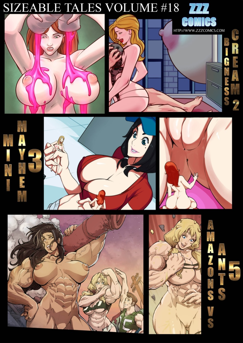 Porn Comics - ZZZ- Sizeable Tales 18 porn comics 8 muses