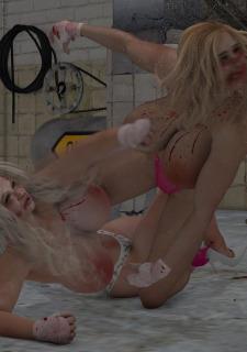 2 Busty Milf Boobs Fight-PPZ3D image 49