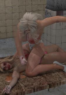 2 Busty Milf Boobs Fight-PPZ3D image 68