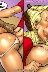 2 Hot Blonde Hunt For Big Black Cocks image 34