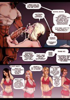 2 Hot Blondes Submit to BBC- Pegasus image 32