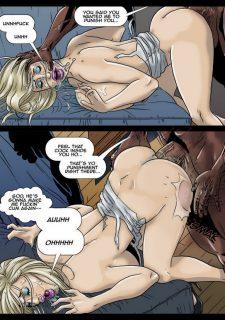 2 Hot Blondes Submit to BBC- Pegasus image 43