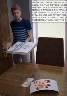 2 Sister and Pizza Boy- Incest3DChronicles image 21