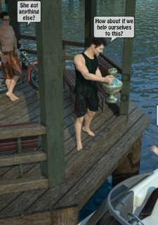 3D -Forced at the boat image 03
