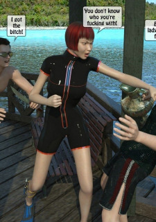 3D -Forced at the boat image 05