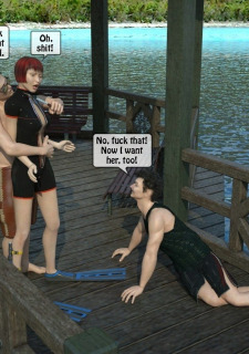 3D -Forced at the boat image 06