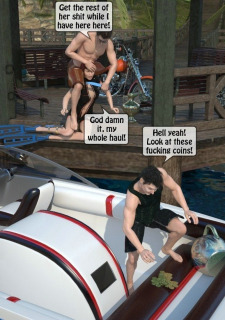 3D -Forced at the boat image 09