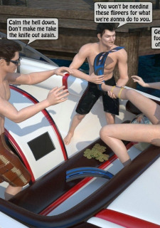 3D -Forced at the boat image 11
