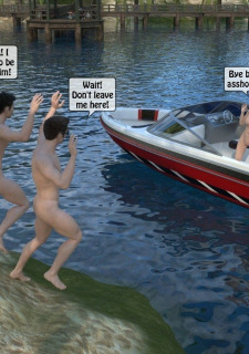 3D -Forced at the boat image 49