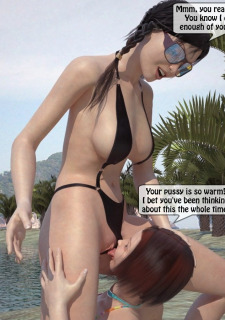3DStories-Two women fuck a man image 04