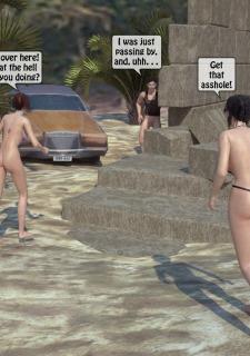 3DStories-Two women fuck a man image 09