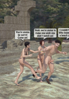 3DStories-Two women fuck a man image 11
