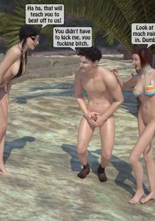 3DStories-Two women fuck a man image 17