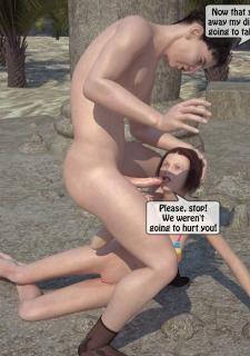 3DStories-Two women fuck a man image 21