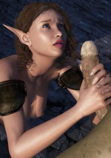3DZen Sanda Captured By Goblin image 04