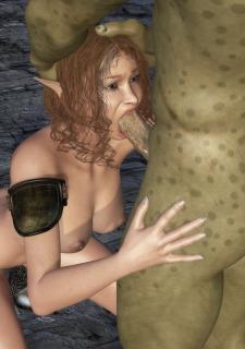 3DZen Sanda Captured By Goblin image 06