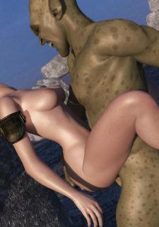 3DZen Sanda Captured By Goblin image 09