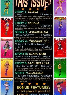 9 Super Heroines – The Magazine 9 image 03