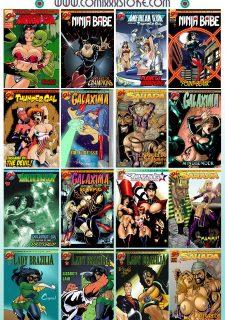 9 Super Heroines-The Magazine 3 image 11