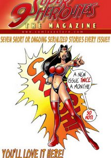 9 Super Heroines – The Magazine 4 image 09