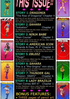 9 Super Heroines – The Magazine 7 image 03