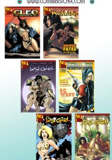 9 Super Heroines – The Magazine 7 image 43