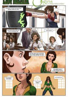 9 Super Heroines – The Magazine 8 image 30