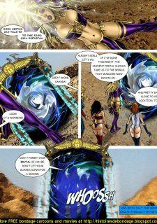 9 Superheroines vs Warlord Ch.1 image 4