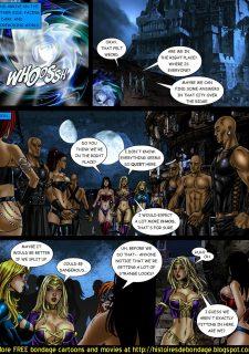 9 Superheroines vs Warlord Ch.1 image 5