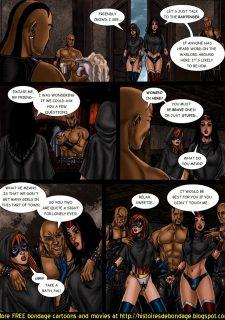 9 Superheroines vs Warlord Ch.1 image 8