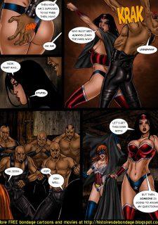9 Superheroines vs Warlord Ch.1 image 9