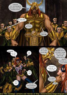 9 Superheroines vs Warlord Ch.1 image 12