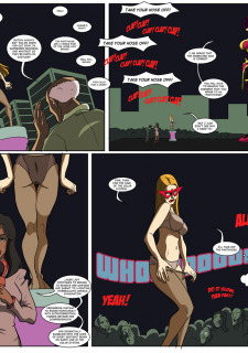 [Legmuscle] Laser Lady-Super Heroin Sex Parody image 19