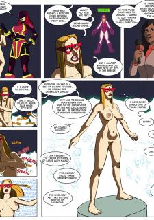 [Legmuscle] Laser Lady-Super Heroin Sex Parody image 24
