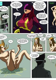 [Legmuscle] Laser Lady-Super Heroin Sex Parody image 28