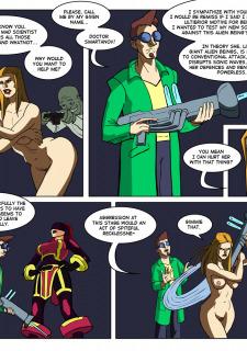 [Legmuscle] Laser Lady-Super Heroin Sex Parody image 29