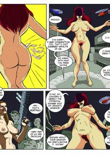 [Legmuscle] Laser Lady-Super Heroin Sex Parody image 38