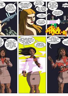 [Legmuscle] Laser Lady-Super Heroin Sex Parody image 42