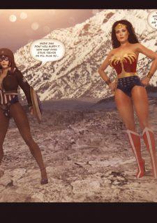 Agent Americana & Wonder Woman image 2
