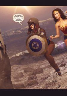 Agent Americana & Wonder Woman image 5