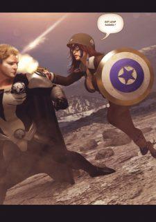 Agent Americana & Wonder Woman image 6