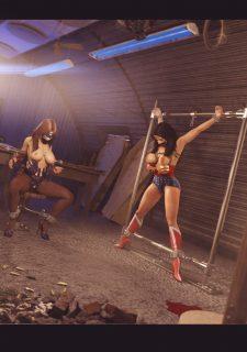 Agent Americana & Wonder Woman image 15