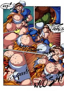 Alex vs Chun-Li- Street Fighter image 2