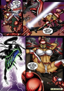 Alien Huntress 11-15 porn comics 8 muses